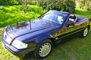 1997 MERCEDES SL 280 BLACK / BLACK only 48,000 miles