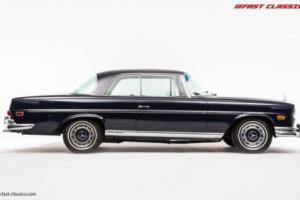 Mercedes-Benz 280 SE Coupe // Navy Blue // 1968