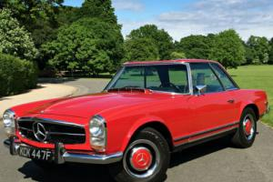 1968 Mercedes-Benz 250SL Pagoda W113 AUTOMATIC - HARD AND SOFT TOPS - LHD