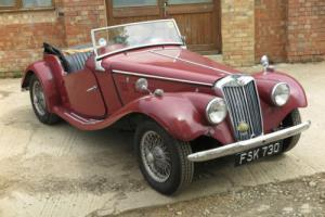 MG TF 1954 V8 LHD Photo