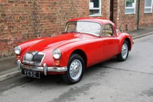 1961 MGA 1600 Series II Coupe