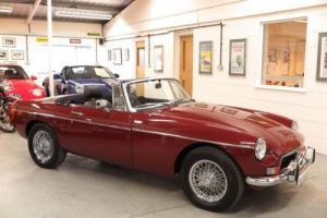 1974 MG B 1.8 Roadster - Chrome Bumper - Damask Red