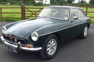 1973 MG B GT Manual, Photo