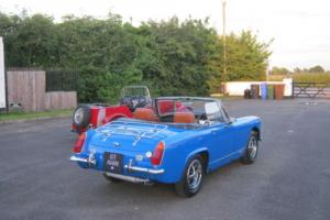 BEAUTIFUL MG MIDGET CHROME BUMPER RUST FREE EXAMPLE DELIGHTFUL CAR Photo
