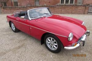 MGB ROADSTER 1978 CHROME BUMPER CONVERSION STUNNING CONDITION THROUGHOUT Photo