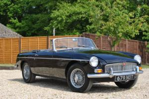 1964 MGB Roadster Pull Handle Car Photo