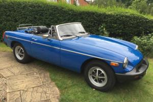 1976 MGB Roadster with Overdrive Photo