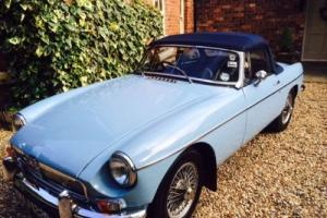 1964 Original Pull Handle MGB Roadster (NOW SOLD)