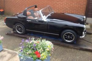 MG MIDGET RWA RARE BLACK / TAN INTERIOR REBUILT