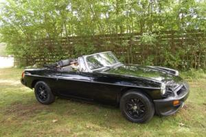 MGB ROADSTER 1.8 Stunning Black 1979 convertible classic Photo