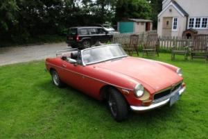 MGB 1974 ROADSTER LHD CALIFORNIAN BARN FIND