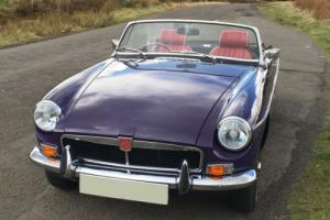 Absolutely Gorgeous and Rare Aconite 1974 MGB Roadster Photo