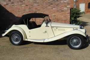 Stunning restored 1954 MG TF as clean underneath as on top, she looks NEW!