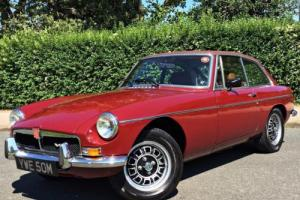 1974 MGB GT V8 - Factory V8 Chrome bumper car