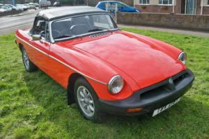 1978 MGB Roadster 1.8 Photo
