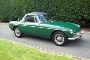 MG MGB Roadster 1966 British Racing Green restored by MG Mecca