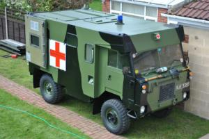 1977 LANDROVER 101 V8 PETROL LPG CONVERSION , AMBULANCE EX-BOSNIA 20,000 MILES