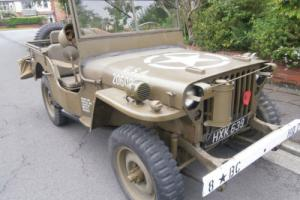 World War 2 Willys MB Jeep 1942 13000 miles Believed correct Superb condition