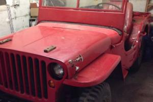 *DEPOSIT TAKEN* WW2 GPW Jeep 1942 with All Matching Numbers