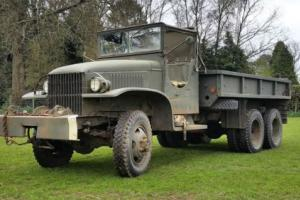 GMC US MILITARY ARMY TRUCK LORRY CCKW AMERICAN WINCH TRUCK- RUNNING AND DRIVING!