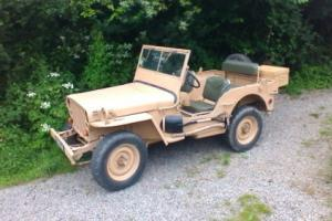 1958 Willys Hotchkiss Jeep M201 24v French registered - Amazing condition LHD