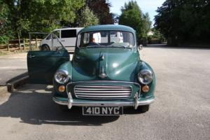 1962 Morris Minor Traveller , Full MOT , Tax exempt .
