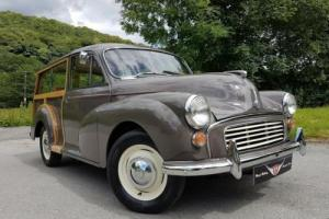 1963 Morris Minor Traveller, EXCELLENT all rounder new interior, paint, chrome