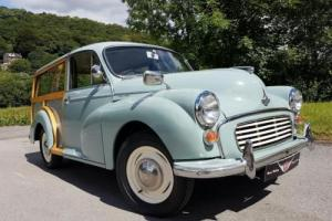 1965 Morris Minor 1000 Traveller, superb wood, fresh refurb