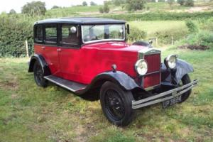 MORRIS OXFORD 6LA 1930 6 CYLINDER SALOON CAR