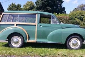 Morris Minor Traveller 1967 Almond Green (Woody)