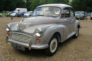 Morris Minor 1098 Grey 2 Door