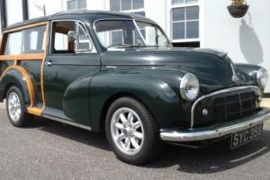 1954 MORRIS MINOR TRAVELLER SPLIT SCREEN ONE PREVEUS OWNER WITH 5 SPEED GREEN
