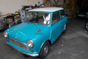 MORRIS MINI MINOR MK1 850 1962