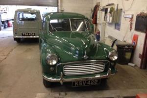 1956 MORRIS MINOR GREEN SPLIT SCREEN