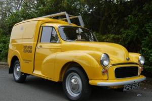 MORRIS MINOR GPO VAN - CONCOURS RE-BUILD !!
