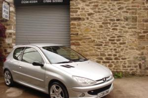 2006 06 PEUGEOT 206 2.0 16V GTI 180 3DR 52531 MILES 180BHP RARE COLLECTABLE.