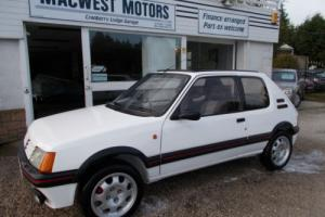Peugeot 205 1.9GTI,OVER 25O PICTURE BUILD HISTORY Photo