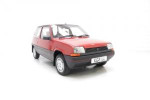 A Magnifique Time Warp Second Generation Renault 5 GTL with Just 30,744 Miles.