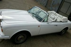 Rolls Royce Corniche Convertible 1989 - MOT Feb 2017 - Lovely Indeed..