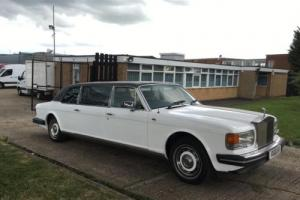 1981 Rolls Royce Silver Spirit Limousine Stretched LWB 7 Seater. Rare Example. Photo