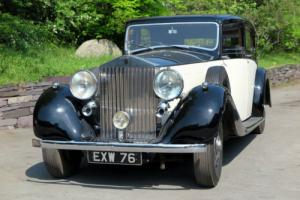1938 Rolls-Royce Phantom III Hooper Saloon 3DL28 Photo
