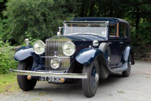 1932 Rolls-Royce Phantom II Barker Sedanca de Ville 40JS Photo