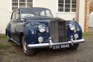 1961 ROLLS ROYCE SILVER CLOUD II MING BLUE NOT BENTLEY S S1 S2 S3 Photo
