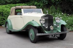 1935 Rolls-Royce 20/25 Sedanca de Ville by Leyshon James GAF7