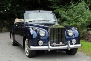 1961 LHD Rolls-Royce Silver Cloud II H J Mulliner Drophead LSXC173 Photo