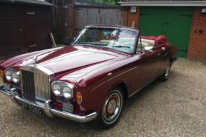 1968 Rolls-Royce Silver Shadow Convertible