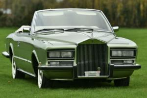 1973 Rolls Royce Phantom 6 Drophead Coupe by P. Frua. Photo