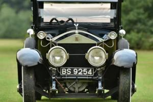 1924 Rolls Royce Silver Ghost Canterbury Landaulette RHD. Photo