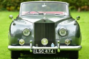 1958 Rolls Royce Silver Cloud 1 Convertible Aluminium bodied. Photo