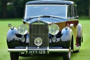 1947 Rolls Royce Silver Wraith Mulliner Sedanca Photo